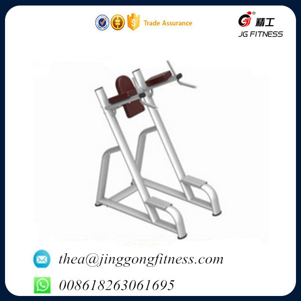 JG-1847 vertical knee raise Fitness Equipment Free Weight lifting Gym Equipment