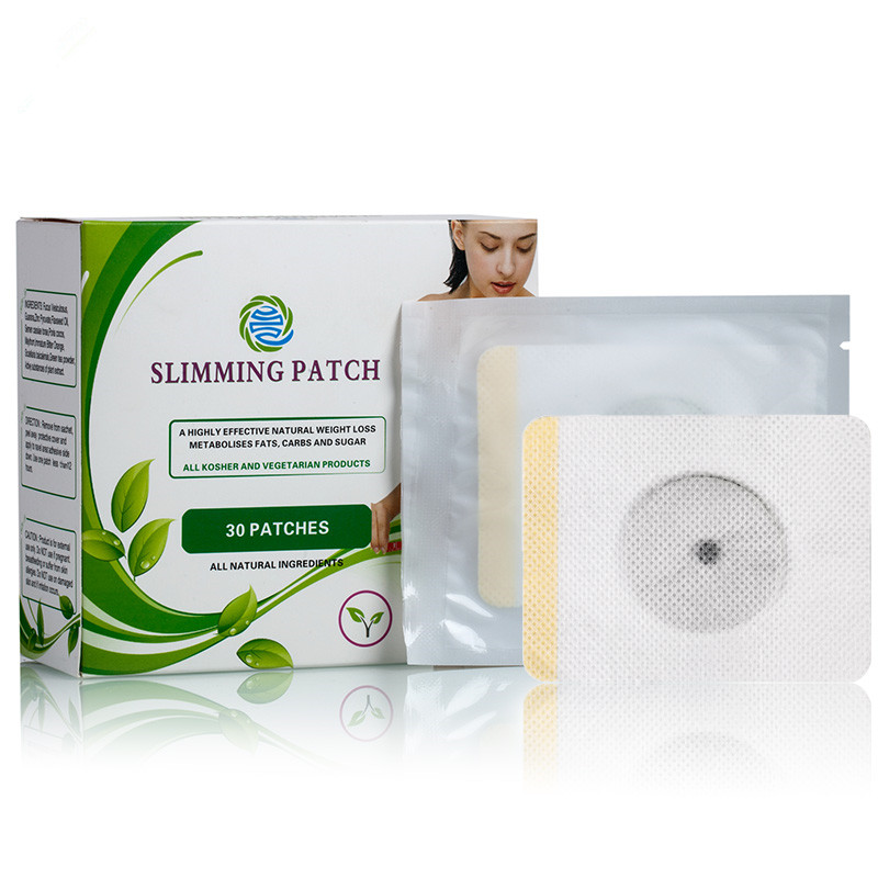 High Quality Wholesale Effective Body Slimming Pads With Retail Box Sleep Lose Weight Patch, White or custozmied as your needs