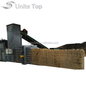 Warranty time One Year Factory sale automatic waste paper and cardboard horizontal baler