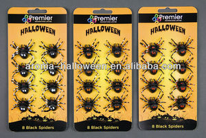 halloween prop spiders decoration