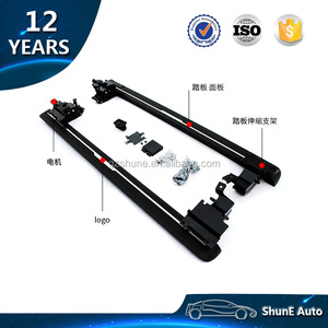 POWER Running Board For DODGE RAM 1500 CREW CAB 2014 Up Electric Side step Automatic Footrest step