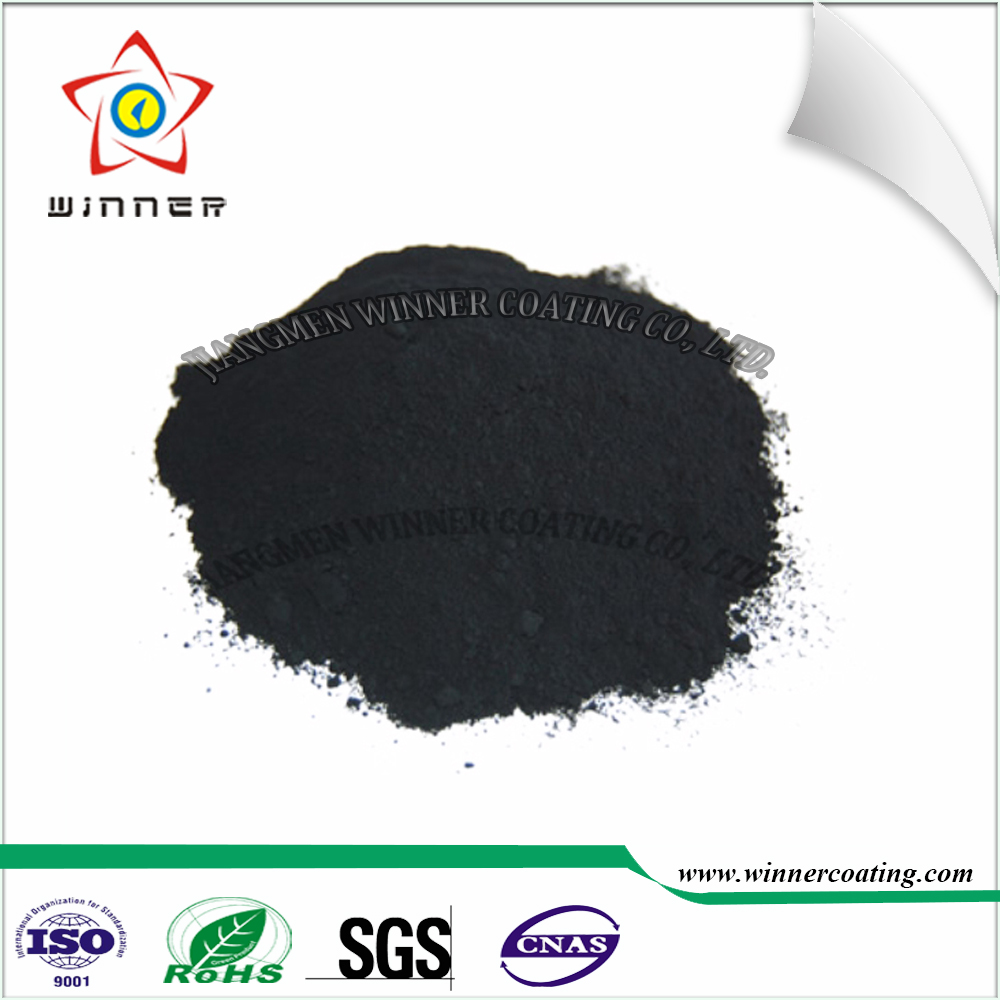 Barbecue ove/BBQ grill/charbroiler use black color sand/grain texture pure Polyester high temperature resistance Powder <strong>Coatings</strong>