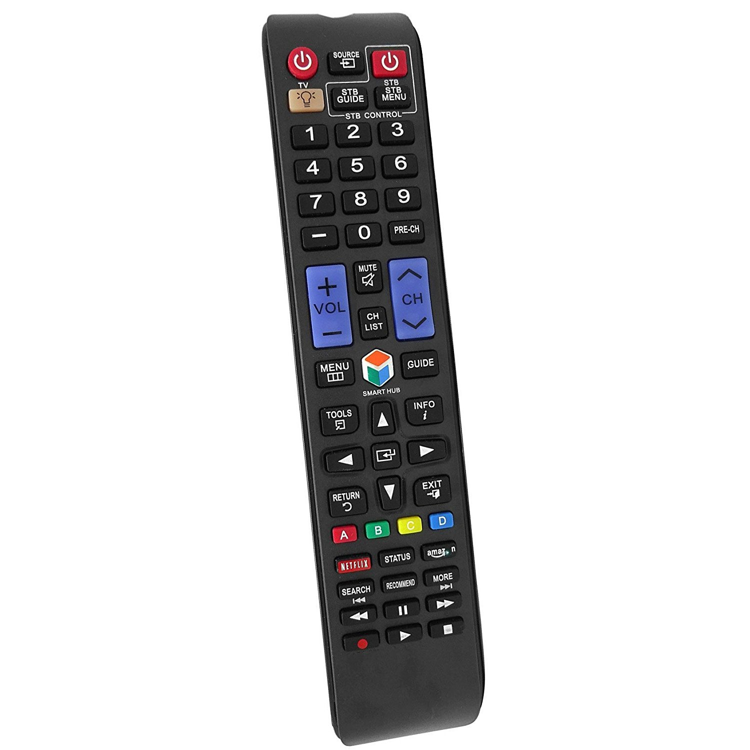 New Replace Remote BN59-01179B for Samsung 3D TV UN65H8000AF UN65HU8500F UN65HU8550F UN46ES7100 UN55ES6820FXZA UN55ES7150F UN55HU9000F UN60ES7150F UN55ES7003F UN55ES6900