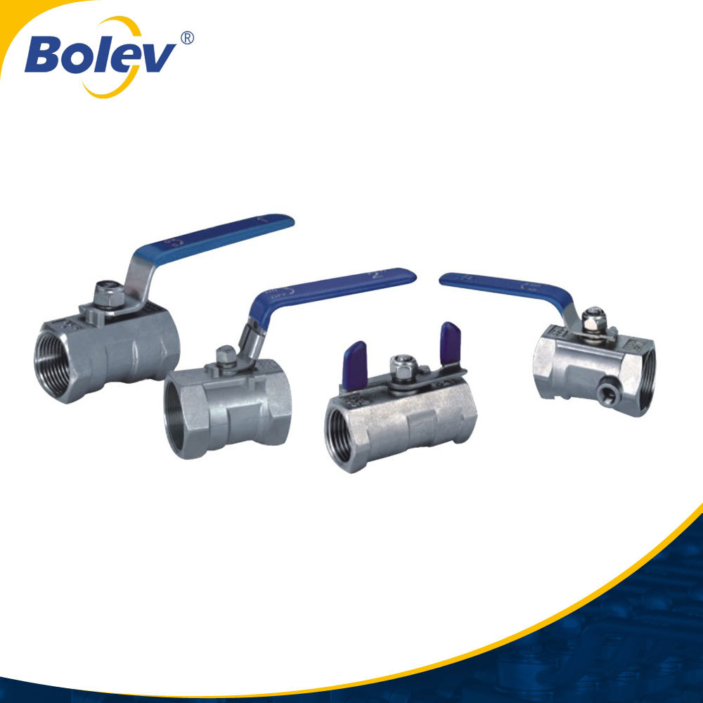 Factory directoly high quality stainless steel full port 1pc 2000 wog ball valve