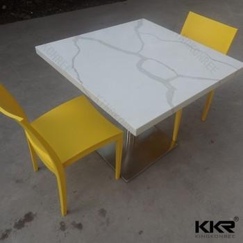 Compact Kitchen Table, Quartz Stone Kitchen Table