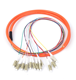 LC/UPC Single mode 12 Pack Multi Color Fiber Optic Pigtails