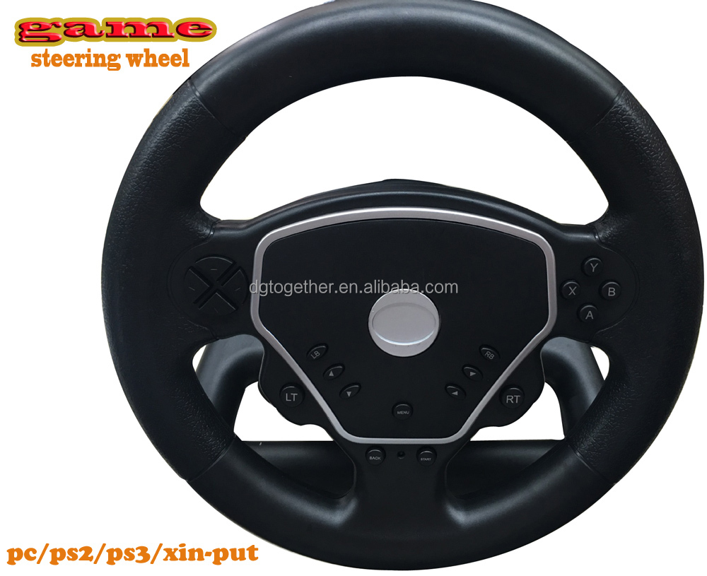 wholesale classic arcade play games car racing machine steering wheel for pc/ps2/ps3