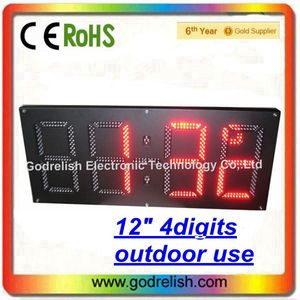 Professional lcd analog clock display for wholesales