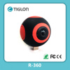 2017 New action camera Dual lens Panoramic 360 degree camera from China