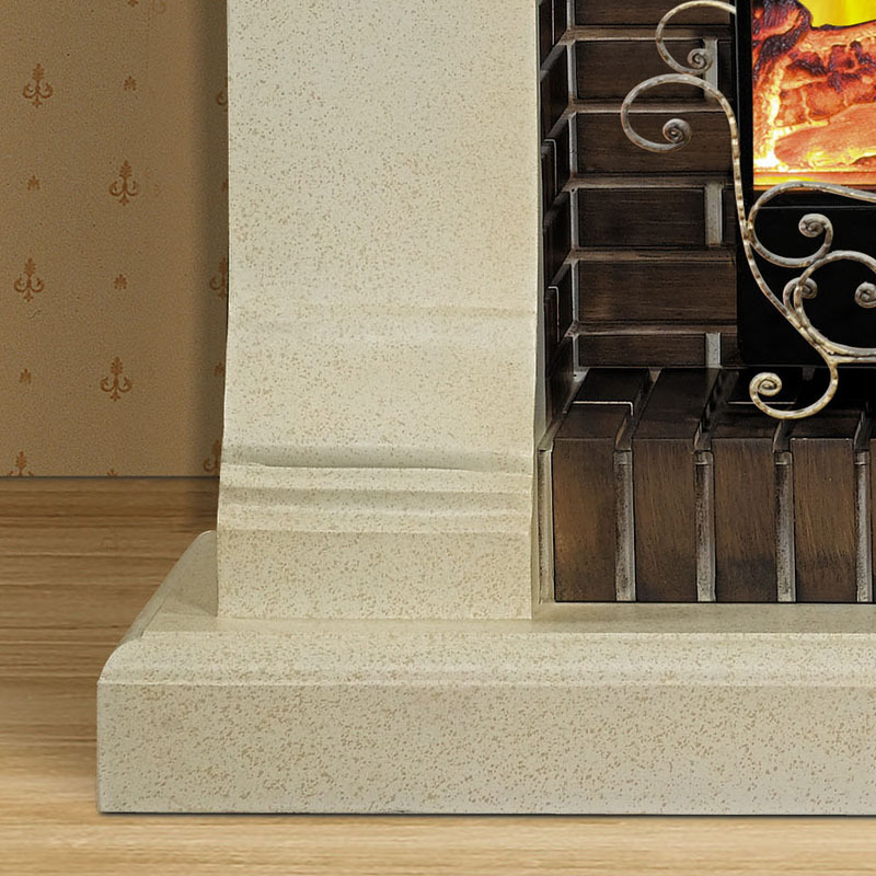 1.5 M High End European Style Fireplace Wood Engraving