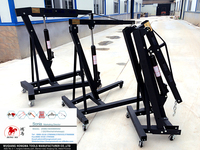 used car lifts for sale 3T folding engine crane vehicle equipment