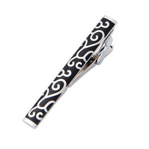 Metal Crafts Simple Necktie Tie Bar Clasp Clip