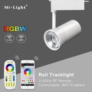 25w Wifi RGBW led track light color rgb changing warm white adjustable museum shopping mall rgb color track lighting