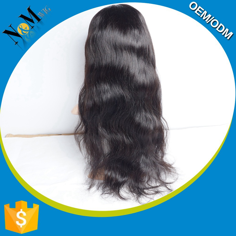 Popular Sale brazilian hair clip ponytail wig making caps