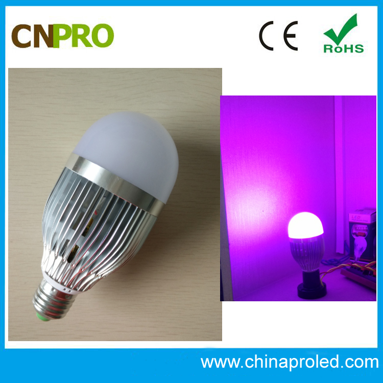 E27/GU10 high quality performance 5 w rgb led bulb