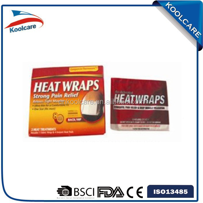 air activated back&hip heat wrap