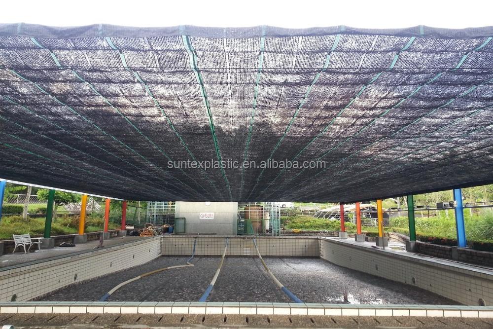 Sun Reflective Aluminum Shade Net,Woven Fabric Silver Shade Mesh,Heat  Control Aluminum Shade