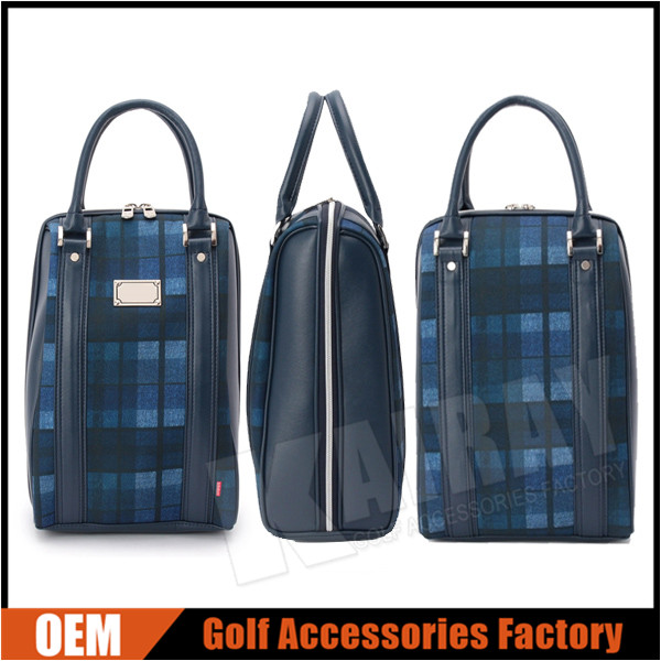 Custom Leather Golf Shoes Bags Shoes Case