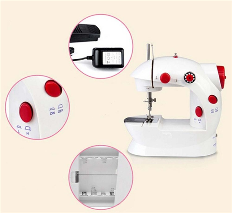 Household Mini Electric China Sewing Machine Jeans T-shirt Sewing Machine Price