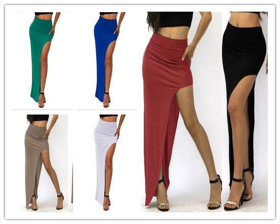 c35769312d faldas cortas y largas de un lado