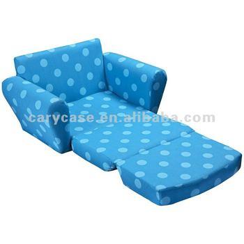 Superieur Kids Foldable Sofa, Sponge Bean Bag Chair