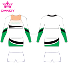 Dandy sport OEM cheerleading long sleeve&sleeveless uniform&cheerleading jersey dress