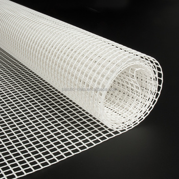Plastic Hdpe Extruded 6mm Mesh White Garden Fencing Mesh