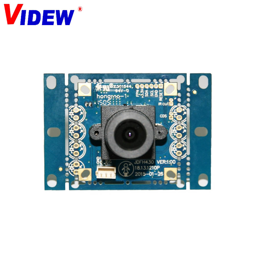 600TVL Sony Mini Square Miniature CCTV Camera W// Low Light OSD WDR DNR PAL Ver.