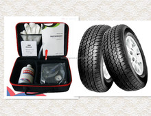 Tire inflating and tire puncture sealing composition Adhesives & Sealants
