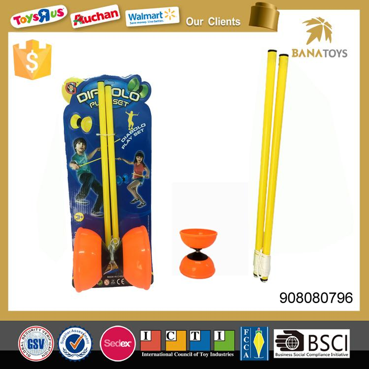 Top selling sport toy to kids diabolo yoyo