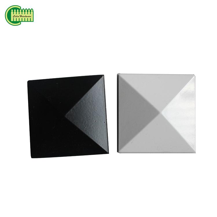 de acero inoxidable pulido Tapas para postes de madera//Vallas Postes tapas 9/x 9/cm en forma de bola o pisos