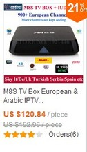 Mag250 TV Box+1 Year Subscription IUDTV IPTV 1000 Europe Channels