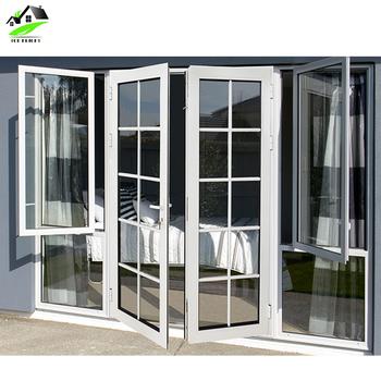 Aluminium Commercial French Doors on