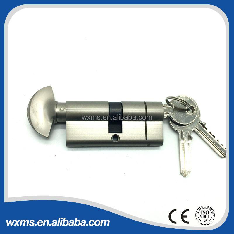 Sector button door lock cylinder&patio door lock cylinder&thule one key lock cylinder