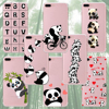 New promotion customized lovely panda phone tpu case with high quality for iphone 5 5s se