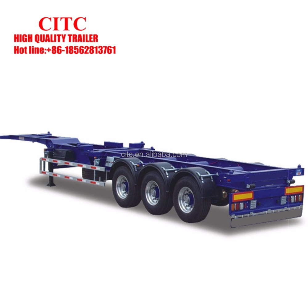 Citc Iso Trailer Two Axles Three Axles 220ft 40ft Container Semi