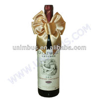 promotion bow tie tie for wine bottle neck decoration
