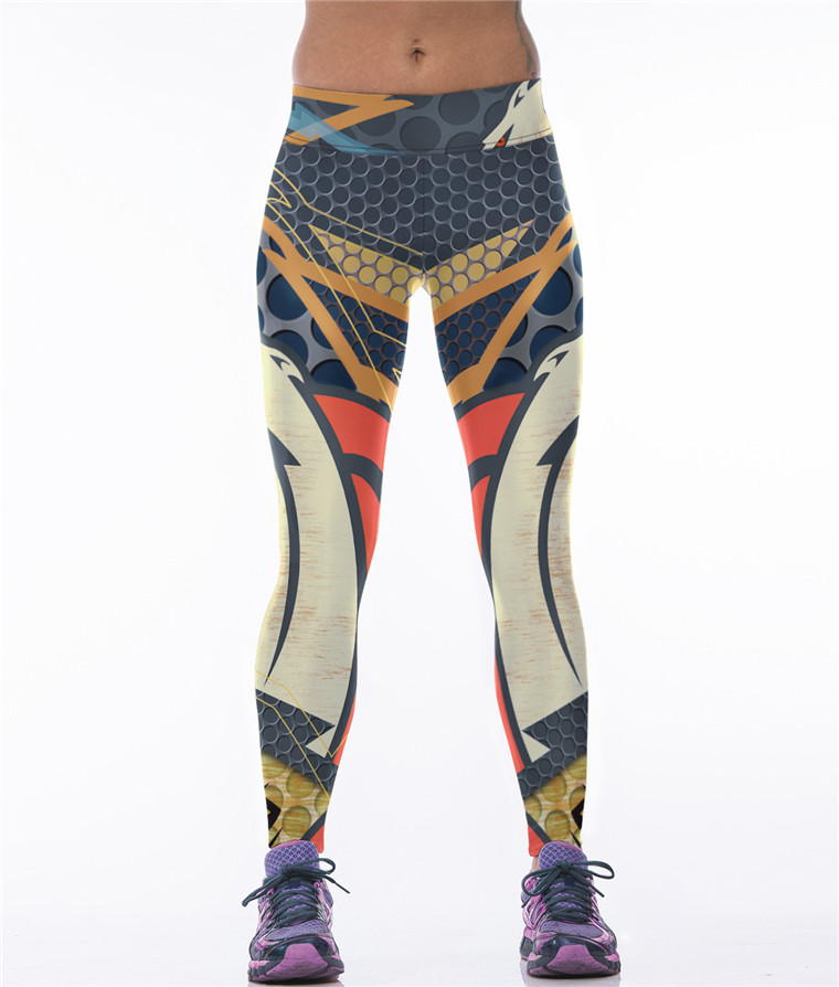 wholesale print high waist custom womens yoga pants
