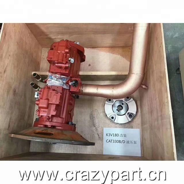 Корея KAWASAKI K5V200DT гидравлический насос преобразовать в 330C основного насоса A8VO200 поршневой насос