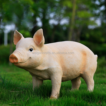 Résine Jardin Ferme Décoration Animale Cochon Figurines - Buy Décoration De  Jardin En Résine De Porc Animal,Figurines De Cochon Animaux En ...
