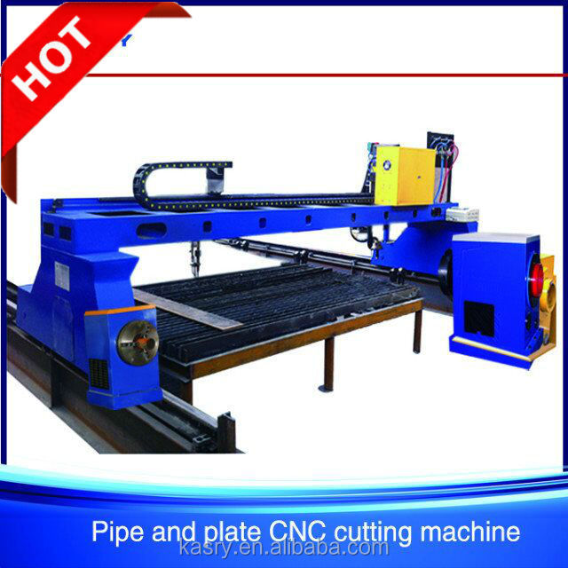cheap price small gantry cnc flame plasma cutting machine for steel pipe and plate fabrication