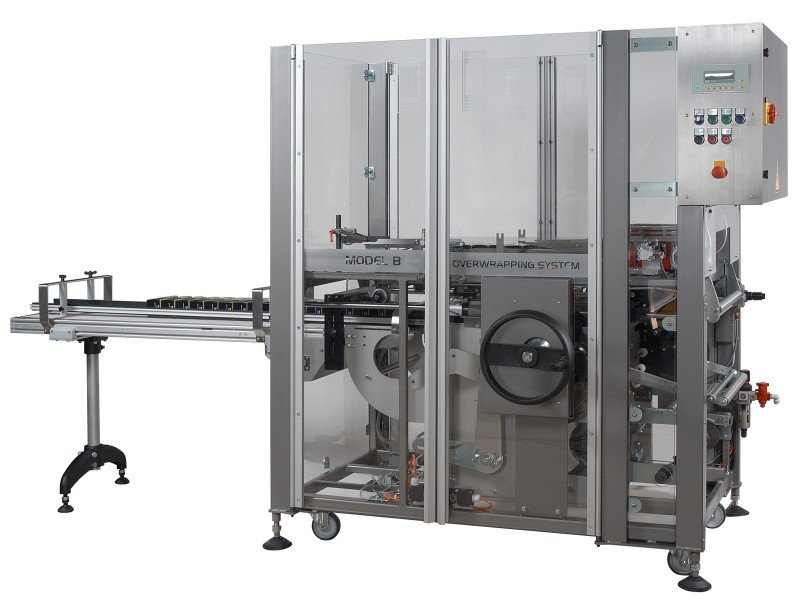 Tea Carton Overwrapping Machine