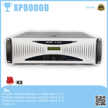 XP8000D altavoces digitales amplificador de potencia