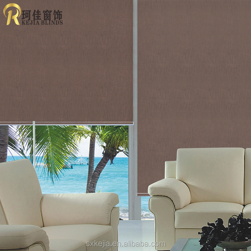 wholesale blockout roller blinds ,color mataching roller fabric