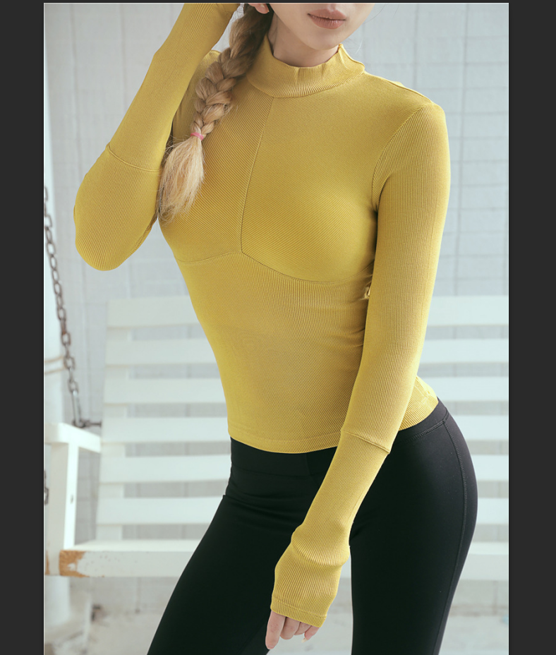 new style good quality Women's Comfort Stretch Long Sleeve Crew Neck T-Shirt Winter Base Layer
