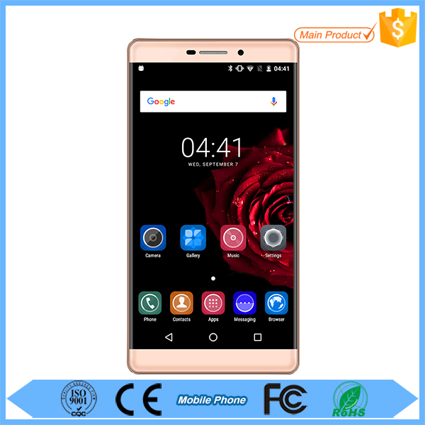 5.5 Inch IPS Touch Screen Dual SIM card MTK6580 Quad core WIFI GPS Big Battery cell phones smartphones android 5.1