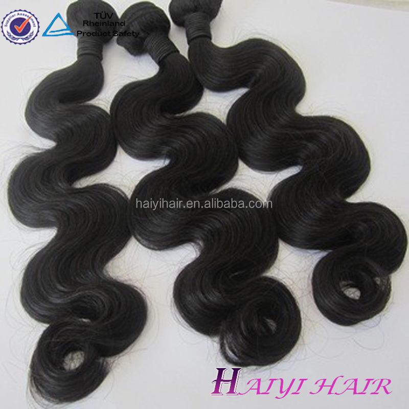 bundles of hair cheap human hair brazilian virgin body wave hair exporting 3000 kg to USA monthly