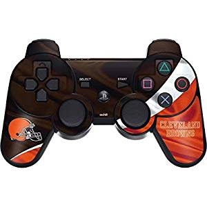 NFL Cleveland Browns PS3 Dual Shock wireless controller Skin - Cleveland Browns Vinyl Decal Skin For Your PS3 Dual Shock wireless controller