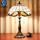 Art Tiffany Antique Brass Table Lamps price glass flower pattern Shade wholesale