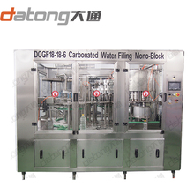 PET bottled soda drinks filling machine equipment production line